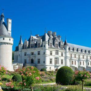 chateau de chenonceau (chateau de loire) . france