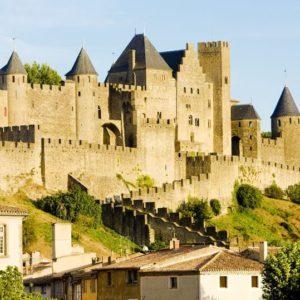 - carcassonne, languedoc-roussillon, france